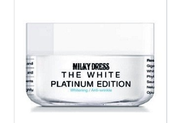 Kem làm trắng da Milky Dress The White Platimun Edition