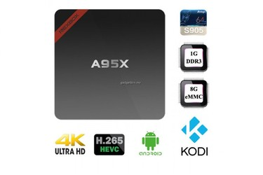 Android TV box NEXBOX mini A95X, Chip S905 2.0GHz