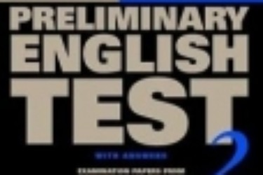 Sách Preliminary English Test
