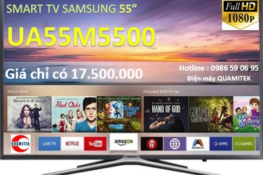Smart TV Samsung 55M5500