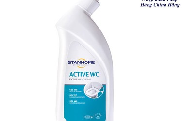 Gel vệ sinh bồn cầu   Active WC Stanhome 750ml