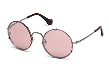 Kính mát nữ Balenciaga Women s BA0086 Light Ruthenium Metal Sunglasses