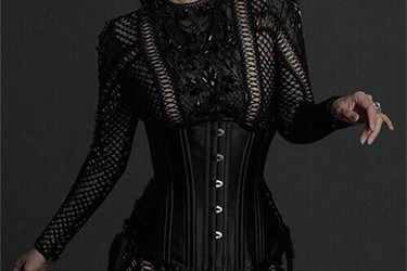 Corset Latex made in U.S Eo Thon Sành Điệu