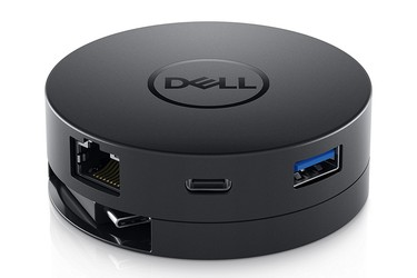 Dell DA300 USB C Mobile Adapter DELL DA300 Dell s USB C 6 In 1 Mobile Adapter Delivers Video, LAN And Data