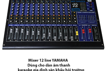 Mixer 12 line Digital MX 1202 EQ