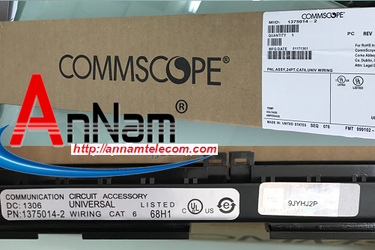 Patch panel 24 port Cat5e COMMSCOPE P/N: 1479154 2