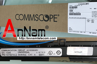Patch panel 24 port CAT6 COMMSCOPE P/N: 1375014 2