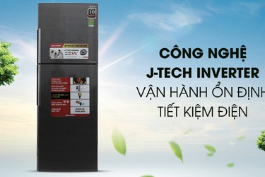 Tủ lạnh Sharp SJ X316E DS Inverter