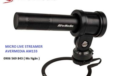 Micro Live Streamer Aver Media AM 133
