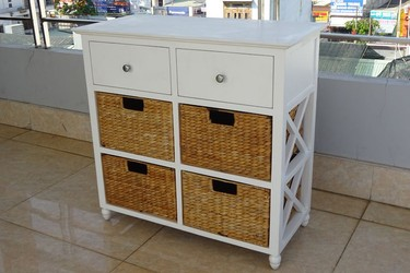 Tủ cabinet trắng
