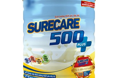 Sữa Surecare 500 plus 900g