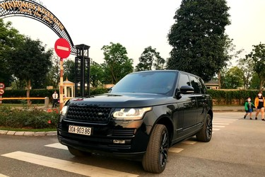 Landrover autobiography diesel xe cực mới 9.900 km zin 99.99%