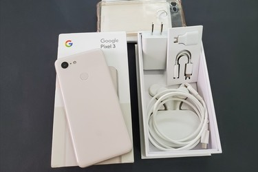 Google Pixel 3 128G Not Pink full box đẹp 99%.