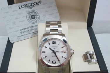 Longines Conquest Automatic full, hộp số thẻ Bảo Hành