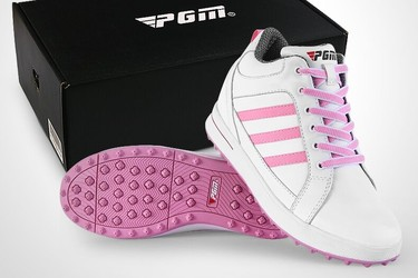 Giayf golf nữ PGM golf shoes genuine leather XZ038