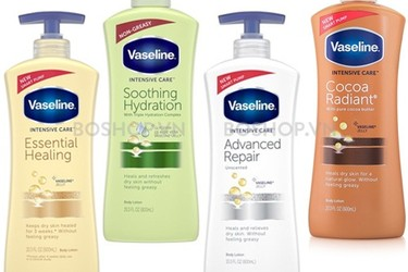 Dưỡng Thể Vaseline Intensive Care Smart Pump 600ml