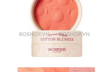 Má Hồng Skinfood Apricot Delight Cotton Blusher 4.5g