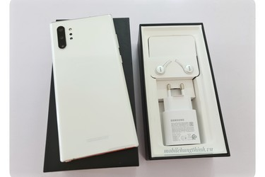 Samsung Galaxy Note 10 Plus Aura White hàng công ty full box