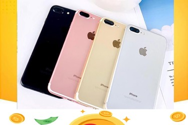 Sale iphone 7 plus 128gb giá chỉ 7.390k