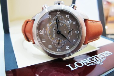 Longines Nam Automatic Dây da 6 kim Size 42 mm like new siêu đẹp