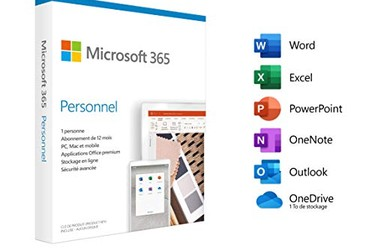Phần mềm Office Microsoft 365 Personal Seal Chưa Active 1 user