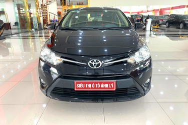 Toyota Vios 1.5 E AT 2017