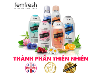 Dung dịch vệ sinh phụ nữ Femfresh Daily Intimate Wash 250ml