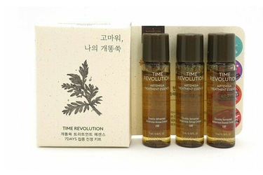 Set 3 lọ tinh chất Dưỡng Missha Time Revolution Artemisia Treatment Essence